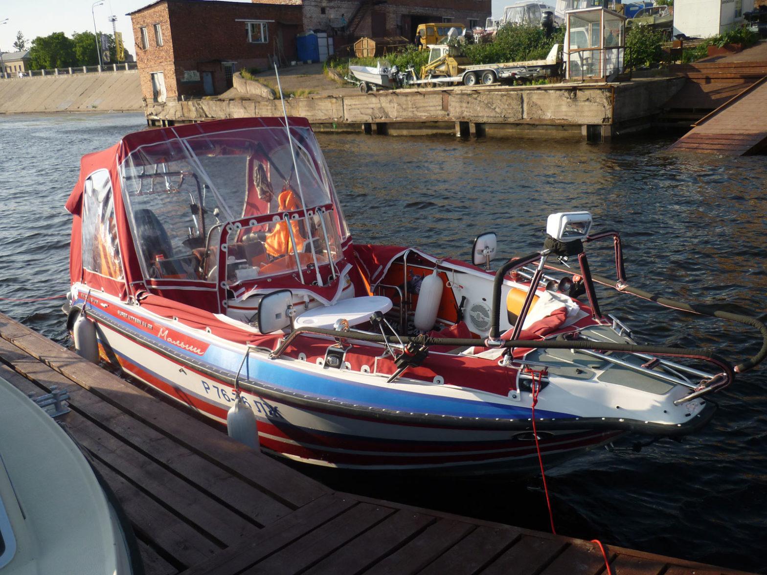 Моторная лодка GRIZZLY-580 Fisherman б/у