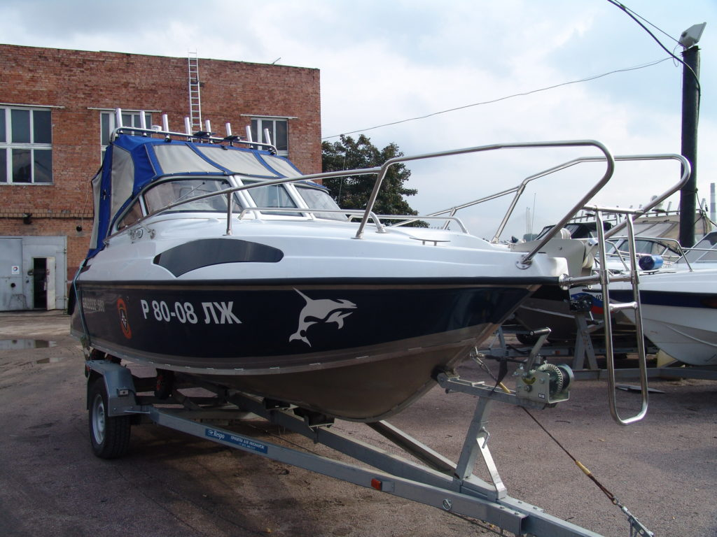 Катер GRIZZLY 580 Cruiser