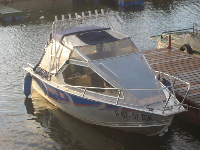 Моторная лодка GRIZZLY 520 R б/у.
